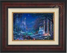 Thomas Kinkade Disney CINDERELLA DANCING IN THE STARLIGHT 12x18 LE G/P Canvas
