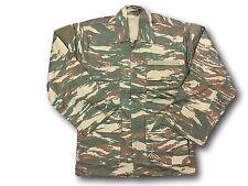 Greek Army Issue Lizard Print Combat Jacket/Shirt, New