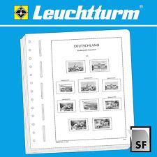 LEUCHTTURM SF-Vordruckblätter Bundesrepublik Deutschland ab 1949 bis 2017