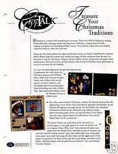 CREATIVE MEMORIES CROPTALK#82 CHRISTMAS TRADITIONS 2003