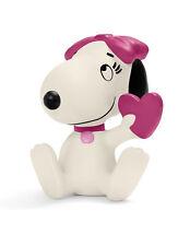 Peanuts figurine dessins animés Belle avec Coeur 6 cm Schleich 22030