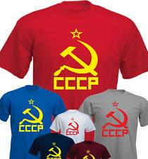 CCCP martillo Y HOZ Camiseta Presente Regalo Nuevo