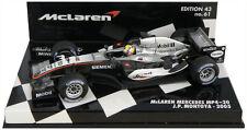 Minichamps McLaren Mercedes MP4-20 2005-Juan Pablo Montoya 1/43 Escala