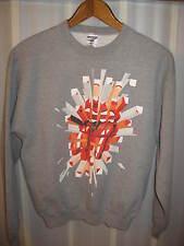 The Rolling Stones A Bigger Bang 2005 Concert Tour Rock Album Sweatshirt Medium