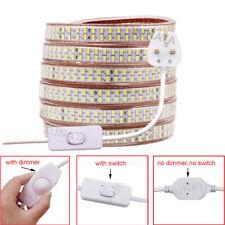 Super bright LED Strip 220V 240V 5730 SMD Rope Garden Decking Kitchen Lights