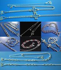 STRASS Soutien-gorge bretelles strass réglable amovible métal invisible UK Stock