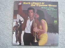 HERB ALPERT'S TIJUANA BRASS: WHAT NOW MY LOVE RECORD LP