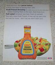 1967 ad page - Kraft French Dressing - fruit salad recipe idea vintage ADVERT