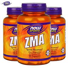 ZMA Supplement - Zinc Magnesium Vitamin B6 - Testosterone & Recovery Sleep Aid