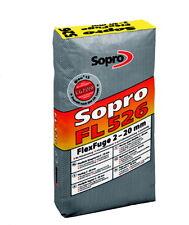 2,80 €/KG Sopro Flexfuge FL 5 KG Fliesenfuge Fugenmörtel Fugenmasse Fuge