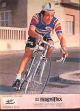 MAURO VANNUCCHI Cyclisme MAGNIFLEX 75 ciclismo Cycling equipo ciclista 1975 vélo