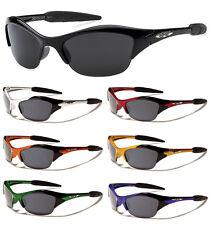 Kids X-Loop Sport Wrap Semi Rimless Sunglasses UV Protect Boy Girl 2295 UV400