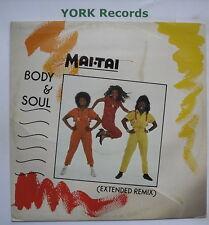 """MAI TAI - Body & Soul - Excellent Condition 12"""" Single Virgin VS 801-12"""