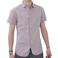 Paul Smith camicia mc quadretti, Short-sleeved checkered shirt
