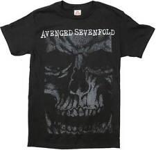 AVENGED SEVENFOLD - Skull Face - T SHIRT S-M-L-XL-2XL Brand New Official