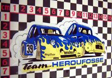 Citroen 2CV Racing Sticker - Ripple Bonnet Dolly 2 CV