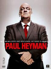 WWE: Ladies and Gentlemen, My Name is PAUL HEYMAN ~ 3 DISC DVD SET, NEW & SEALED