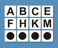 Reitplatz Buchstaben Dressurbuchstaben für Dressurviereck 20x40m und 20x60m
