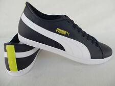 0e1a922100b4 Geile Classic Puma Sneakers Blue White Leather Shoe Sports Size 40 41 42 43  44