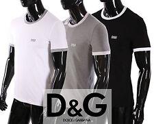 T-SHIRT DG DOLCE & GABBANA HOMME Blanc Taille S, M
