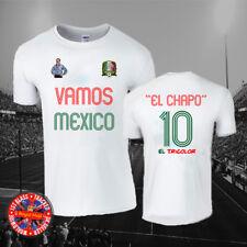 El Chapo Vamos Mexico T-shirt, Soccer, Football, Narcos, World Cup, Gift, Unisex