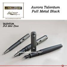 AURORA Talentum Full Metal Black - penna sfera - roller - stilo - IN ARRIVO