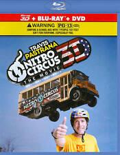 Nitro Circus : The Movie rare 3D & 2D BLU RAY & DVD Combo (3 disc) Stunts