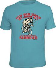 Geburtstag T-Shirt - 60 Jahre - Bitte helft mir aufs Fahrrad - FunShirt Geschenk