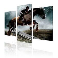 CANVAS (Rolled) Digital Art Wild Horse Split 3 Panels 3 Panels Oil Paint