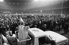 POPE JOHN PAUL II GLOSSY POSTER PICTURE PHOTO  cross jesus vatican rome 2167