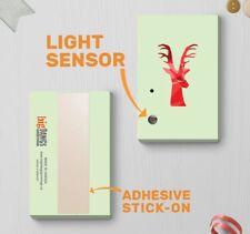 120s Light Sensor Christmas Talking Artistic Reindeer Singing Minimalist 00066
