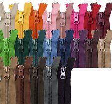 Reißverschluss - Nylon 5mm teilbar 30 35 40 45 50 55 60 cm für Jacke Taschen etc