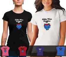 LADIES Little Miss Giggles Tshirt cotton