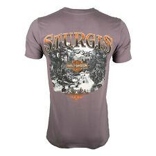 Sturgis Harley-Davidson® Men's Riding Scene Smoke Grey Short Sleeve T-Shirt