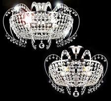 Design 48-58cm Wohnzimmer Deckenlampe Kristall Kronleuchter Lüster Lampe edel