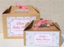 boite cadeau personnalisé faveur - Baptême enterrement de vie jeune fille floral