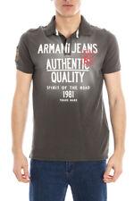 Polo Armani Jeans AJ Polo Shirt REGULAR FIT Cotone Uomo Verde A6M14MG 6B