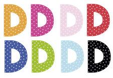 JaBaDaBaDo Kinderzimmer Buchstabe D (Farbauswahl)