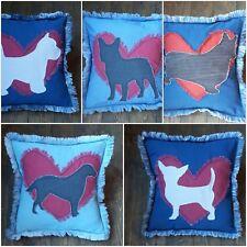 Dog Cushion Covers, French Bulldog, Westie, Labrador, Corgi, Chihuahua, Handmade