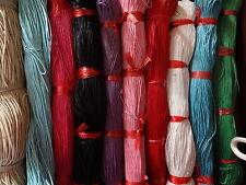 20 mètres x 1mm cire coton cordon pour shamballa, macrame, bijoux