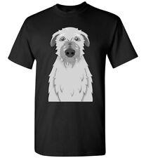 Scottish Deerhound Dog Cartoon T-Shirt Tee - Men Women Youth Kids Tank Long