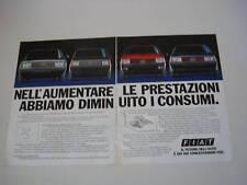 advertising Pubblicità 1984 FIAT UNO/REGATA
