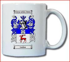 LENIHAN COAT OF ARMS COFFEE MUG