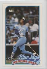 1989 Topps/LJN Baseball Talk #53 George Bell Toronto Blue Jays Card