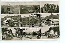AUSTRIA, GRUP AU OBERAMMERGAU 1950 MULTI VIEW REAL PHOTO(383-84)