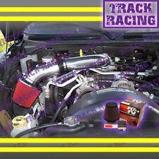 00-10 DODGE DAKOTA DURANGO RAM 1500 3.7 V6 4.7 V8 AIR INTAKE KIT+K&N Black Red S