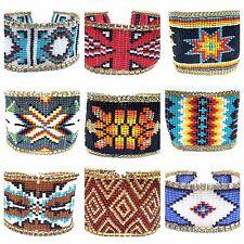 Fashion Handmade Beaded Cuff Bracelet