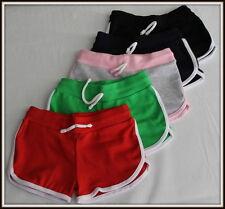 Girls & Boys Short Over-Knee Sport School Shorts Pants Active 3 - 16 Yrs 98-170