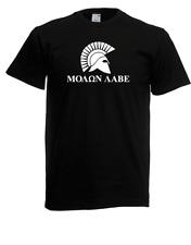 Señores t-shirt i molon lave i Spartan Esparta King i proverbios i Fun i divertido