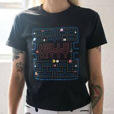 BAIT x Sanrio Hello Kitty x Pac-Man Women Game Tee black